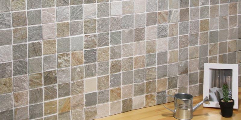 ストーンパネル アクセントウォール デザインウォール Stone Mosaic ストーンモザイク モザイクイエロー