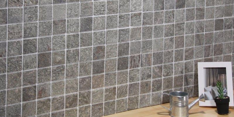 ストーンパネル アクセントウォール デザインウォール Stone Mosaic ストーンモザイク モザイクグリーン