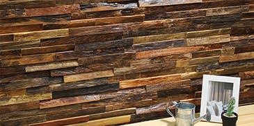 Wood Clad ウッドクラッド ティンバーアプリコット ウッドパネル アクセントウォール デザインウォール