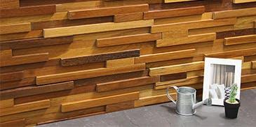 Wood Clad ウッドクラッド ティンバーブラウン ウッドパネル アクセントウォール デザインウォール