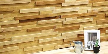 Wood Clad ウッドクラッド ティンバーイエロー ウッドパネル アクセントウォール デザインウォール