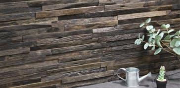 Neo Wood Clad ネオウッドクラッド コーディアルセピア ウッドパネル ストーンパネル アクセントウォール デザインウォール
